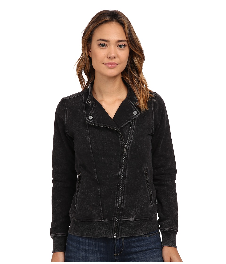 RVCA - Absense Coat (Black) Women's Coat