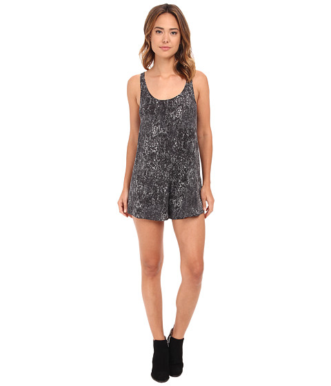 RVCA - Nite Glow Jumper (Black) Women's Jumpsuit & Rompers One Piece