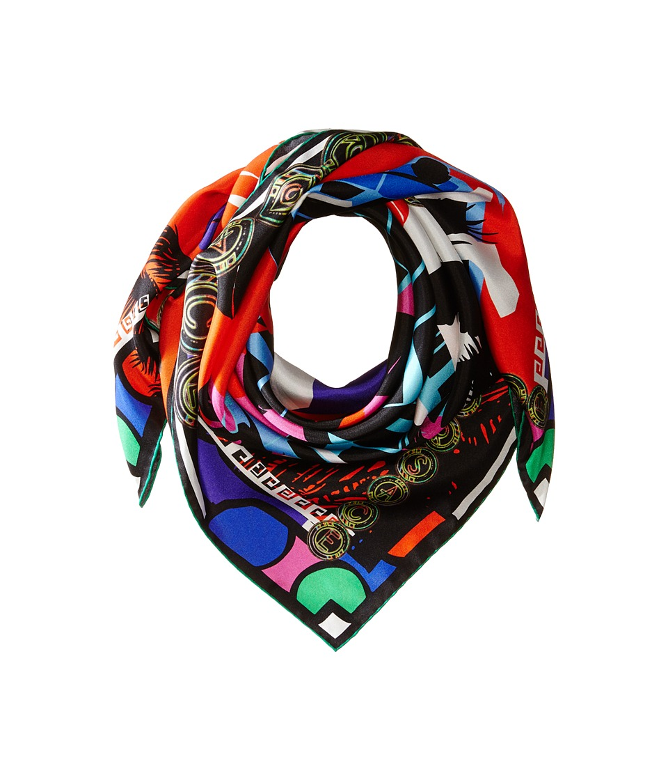 Versace Collection - FO05SEB1056 (Red) Scarves