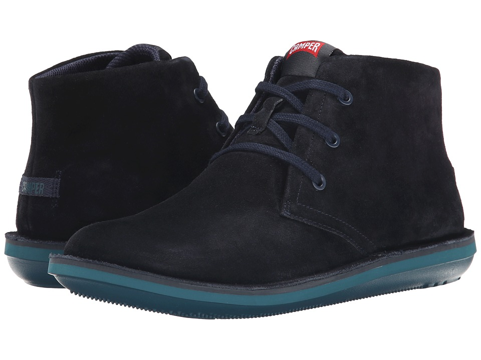 Camper - Beetle Hi-36530 (Navy 1) Men's Lace-up Boots