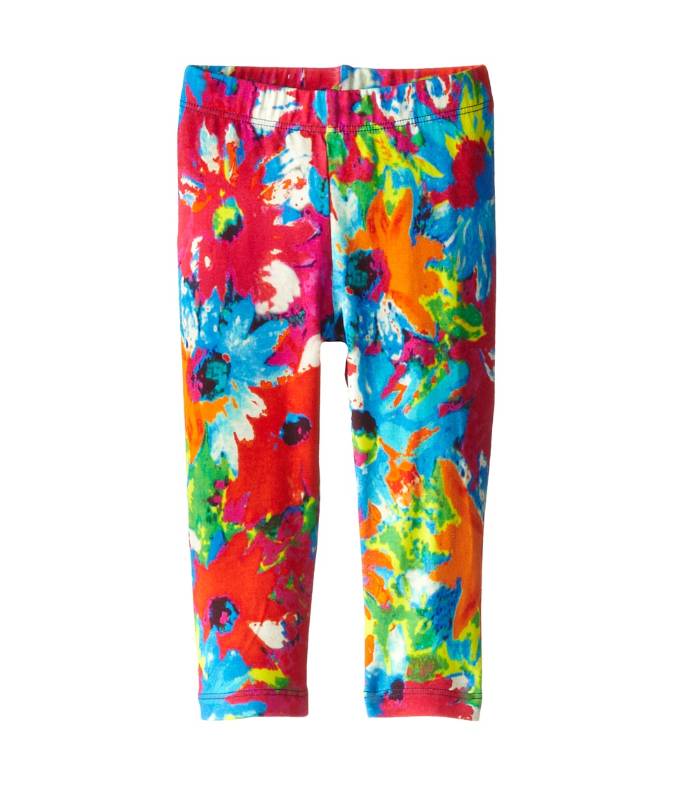 Junior Gaultier - Floral Leggings (Infant) (Indigo) Girl