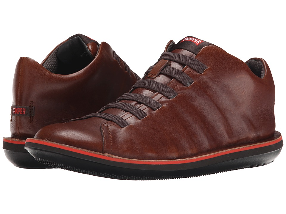 Camper - Beetle-36678 (Medium Brown) Men's Lace up casual Shoes