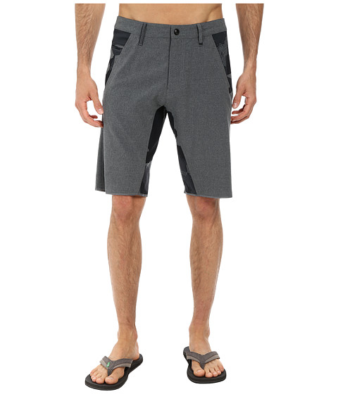 Fox - Yoked Tech Shorts (Charcoal Heather) Men