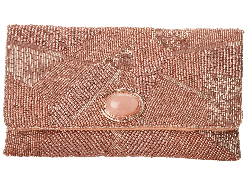 Mary Frances - Pink Gold (Pink) Handbags