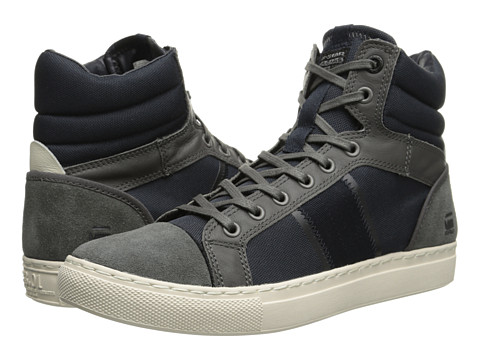 G-Star - Augur Saraband (Grey/Navy) Men's Lace up casual Shoes