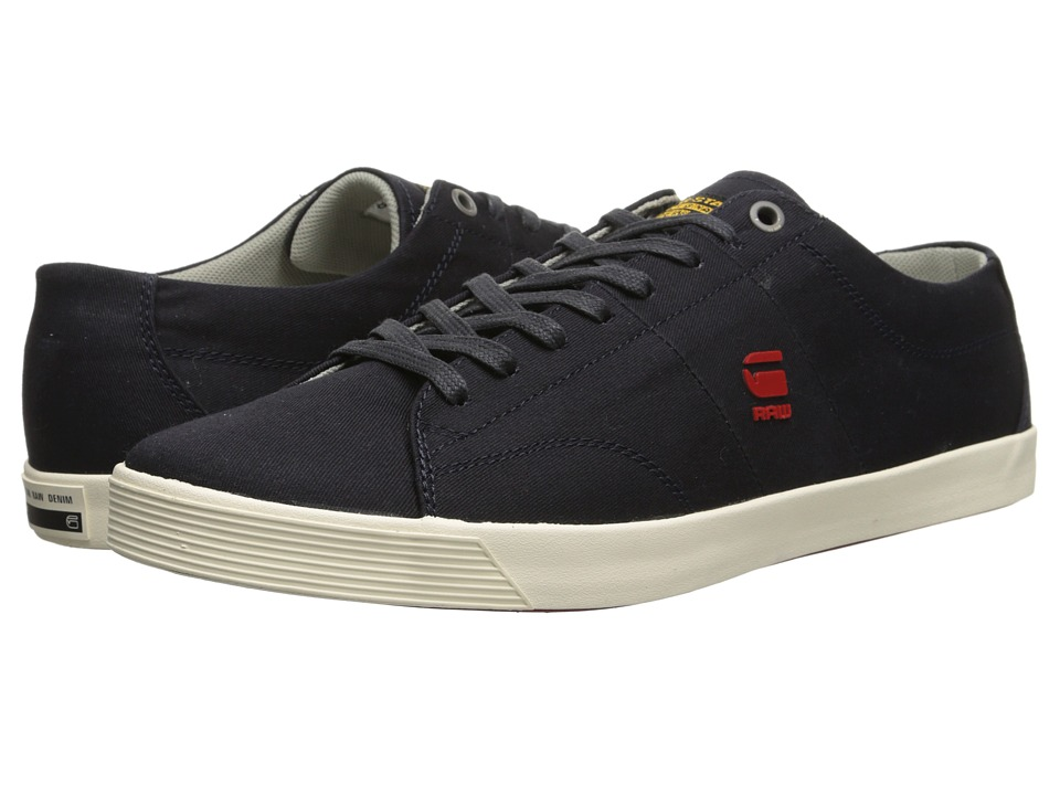 G-Star - Dash III Avery II (Navy Canvas) Men's Lace up casual Shoes
