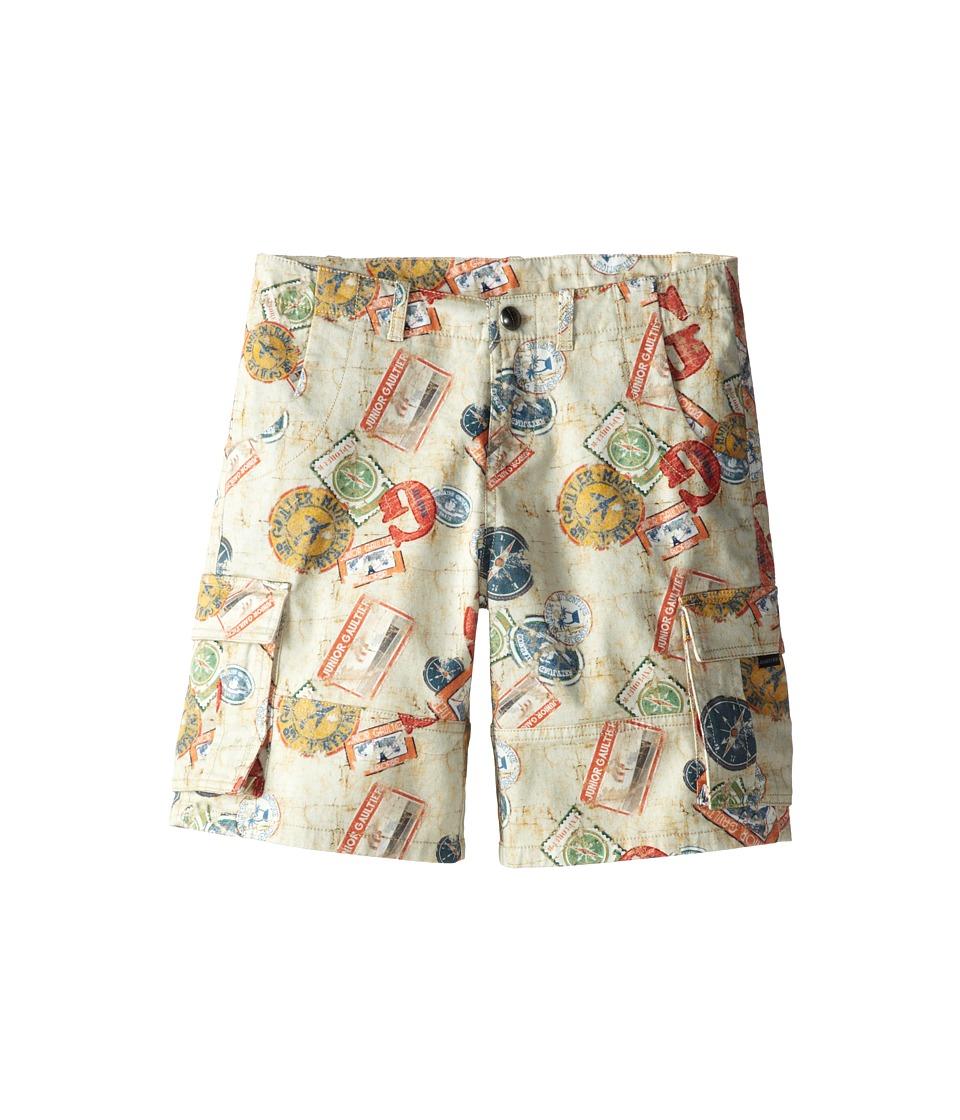 Junior Gaultier - Travel Print Shorts (Big Kid) (Multicolor) Boy's Shorts