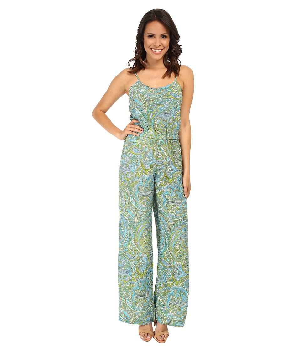 MICHAEL Michael Kors - Ashbury Jumpsuit (Pear/Peacock) Women's Jumpsuit & Rompers One Piece