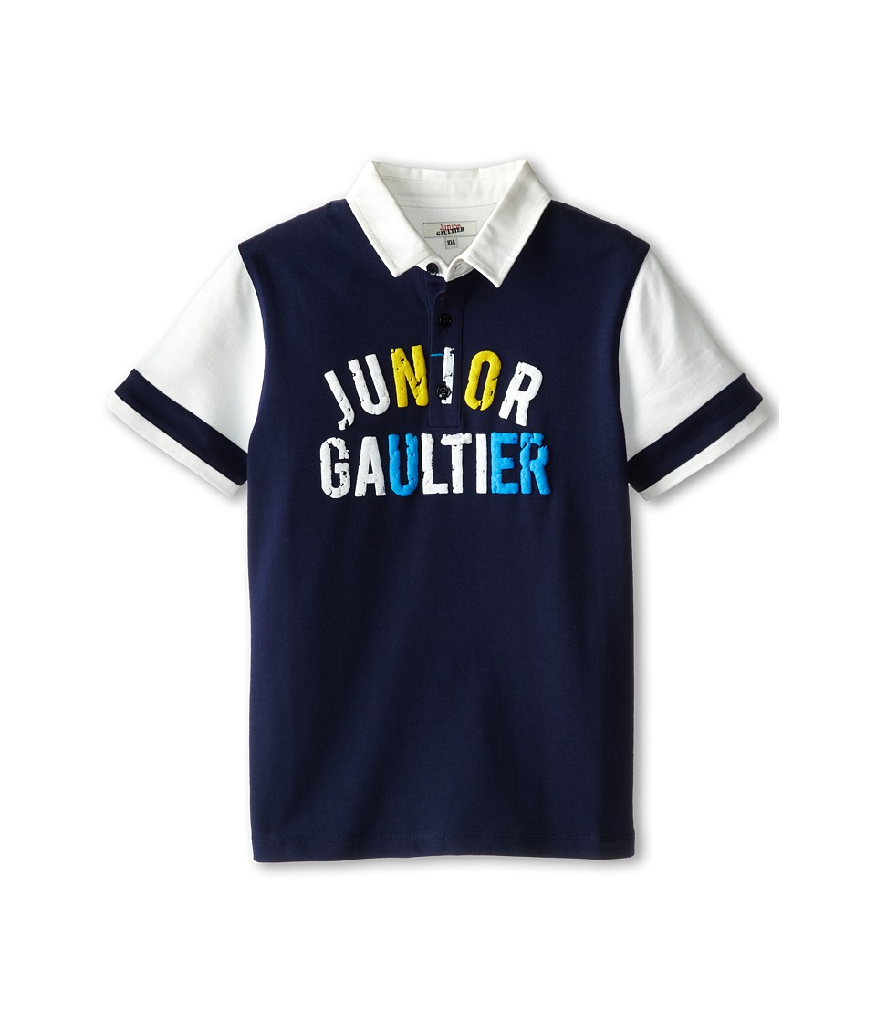 Junior Gaultier - Polo Shirt Norris (Big Kid) (Marine Blue) Boy's Short Sleeve Pullover