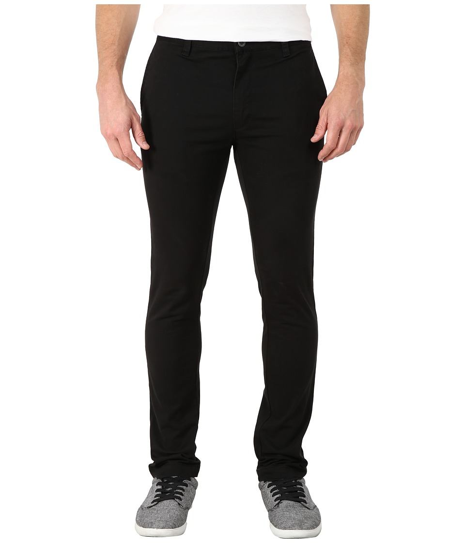 RVCA - Stapler Twill Pants (Black) Men's Casual Pants