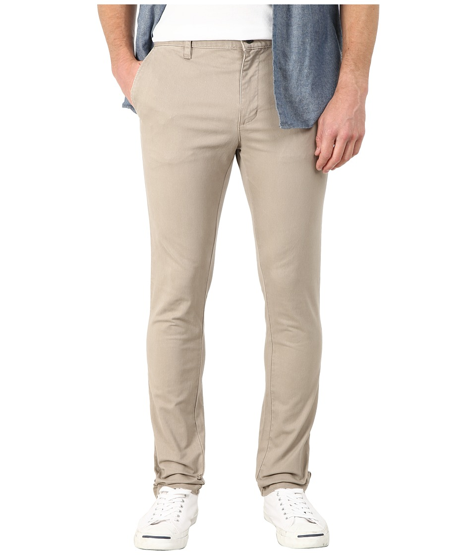 RVCA - Stapler Twill Pants (Dark Khaki) Men's Casual Pants