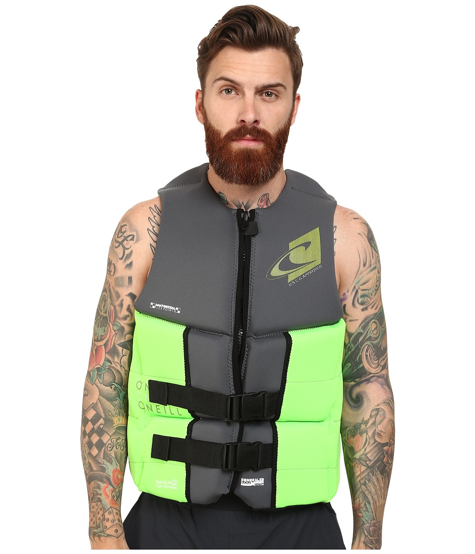 O'Neill - Assault L.S. USCG Vest (Graphite/Day Glow) Men's Vest