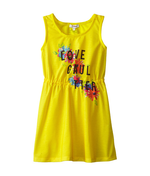 Junior Gaultier - Love Gaultier Cinched Dress (Toddler/Little Kid) (Sun) Girl