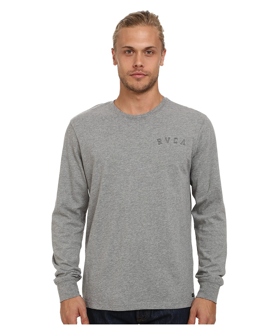RVCA - Chain Long Sleeve Crew (Athletic) Men's Long Sleeve Pullover