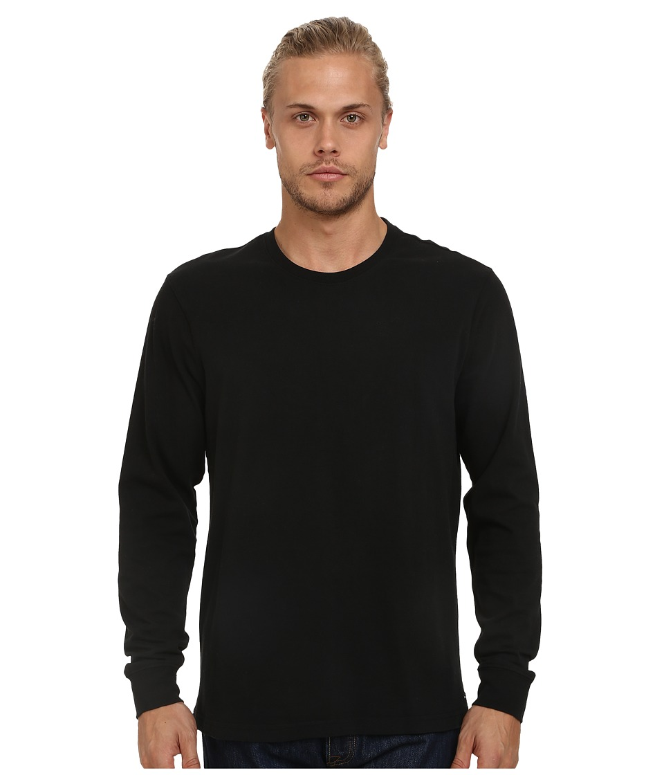 RVCA - Chain Long Sleeve Crew (Black) Men's Long Sleeve Pullover