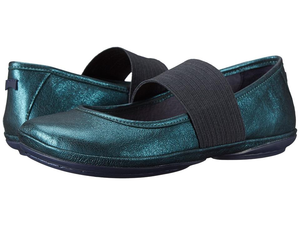 Camper - Right Nina 21595 (Dark Green) Women's Maryjane Shoes