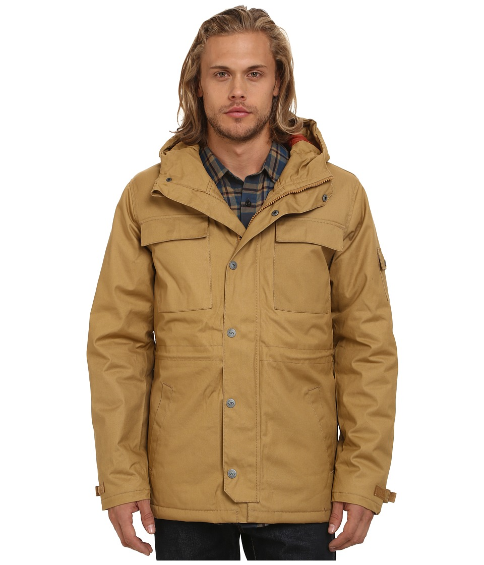 RVCA - Wright II (Chestnut) Men's Coat