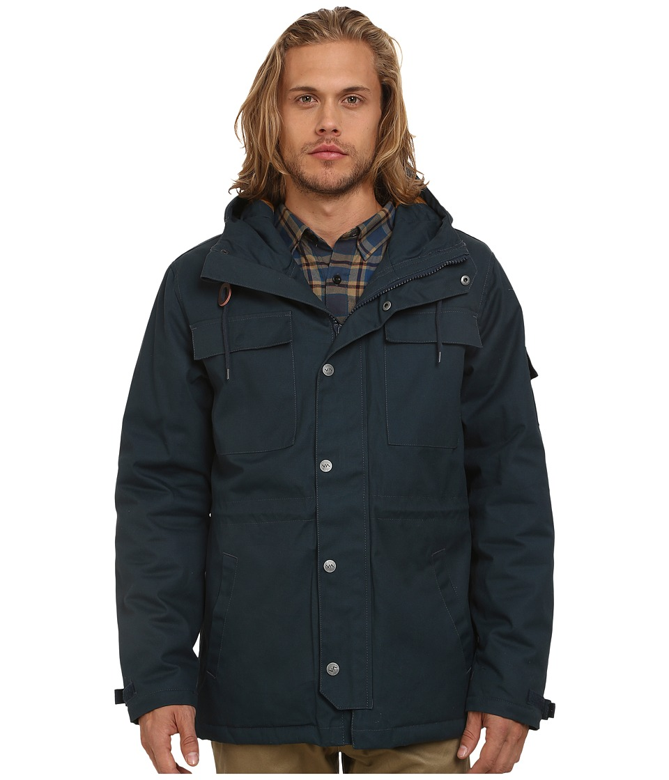 RVCA - Wright II (Midnight) Men's Coat