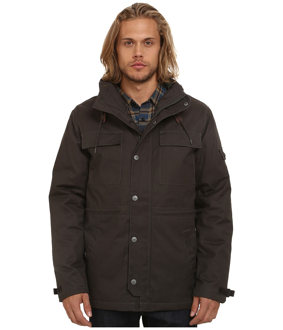 RVCA - Wright II (Pirate Black) Men's Coat