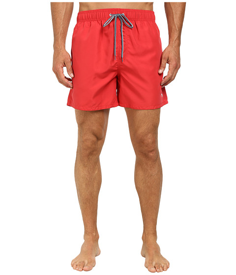 Ted Baker - Pinpon Plain Chino Pocket Swim Short (Coral) Men's Swimwear