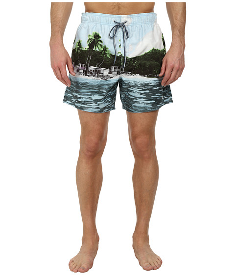 Ted Baker - Lakely Tropical Photo Shortti (Assorted) Men