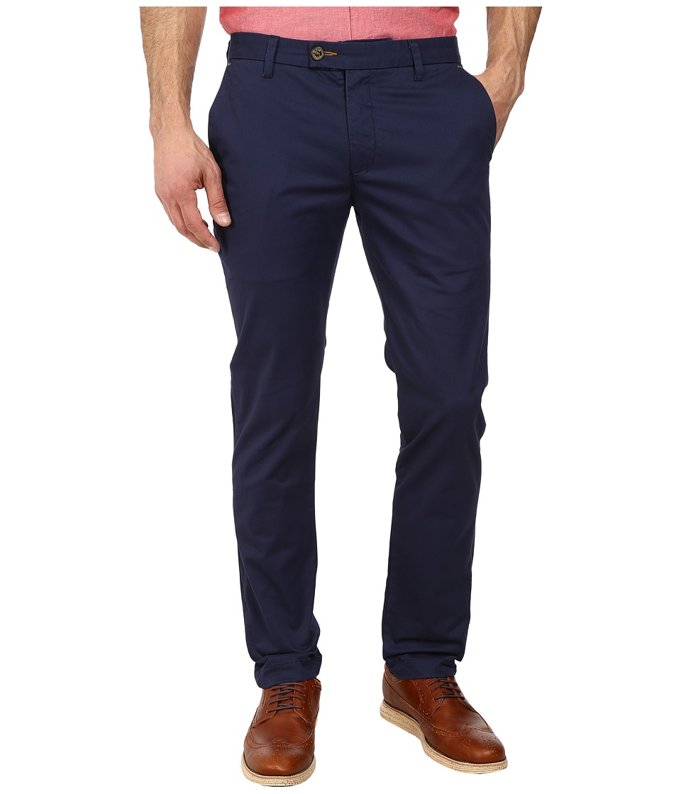 Ted Baker - Sorcor Slim Fit Chino (Dark Blue) Men's Casual Pants