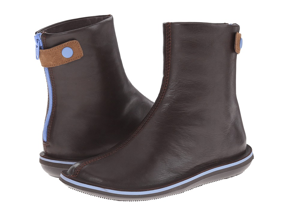 Camper - Beetle - K400010 (Dark Brown) Women's Boots
