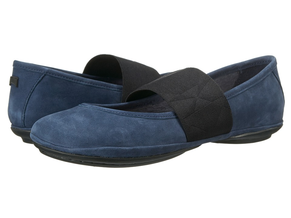 Camper - Right Nina - K200052 (Navy) Women's Shoes