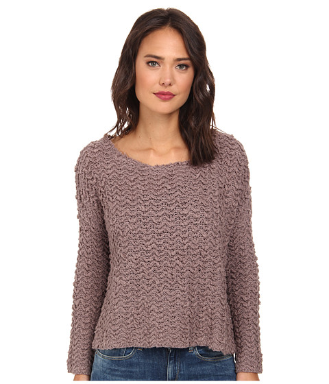 Free People - Everlasting Pullover (Mushroom) Women's Long Sleeve Pullover