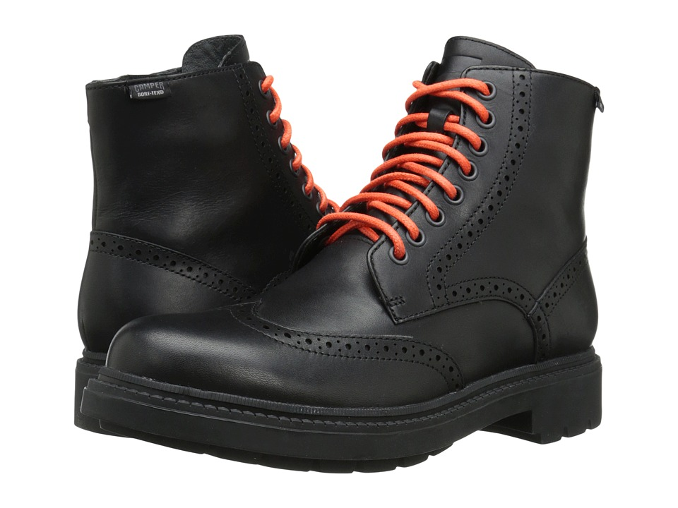 Camper - Hardwood GORE-TEX - K300029 (Black) Men's Boots