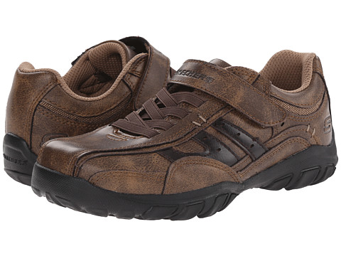 SKECHERS KIDS - Grambler 96313L (Little Kid/Big Kid) (Brown) Boy