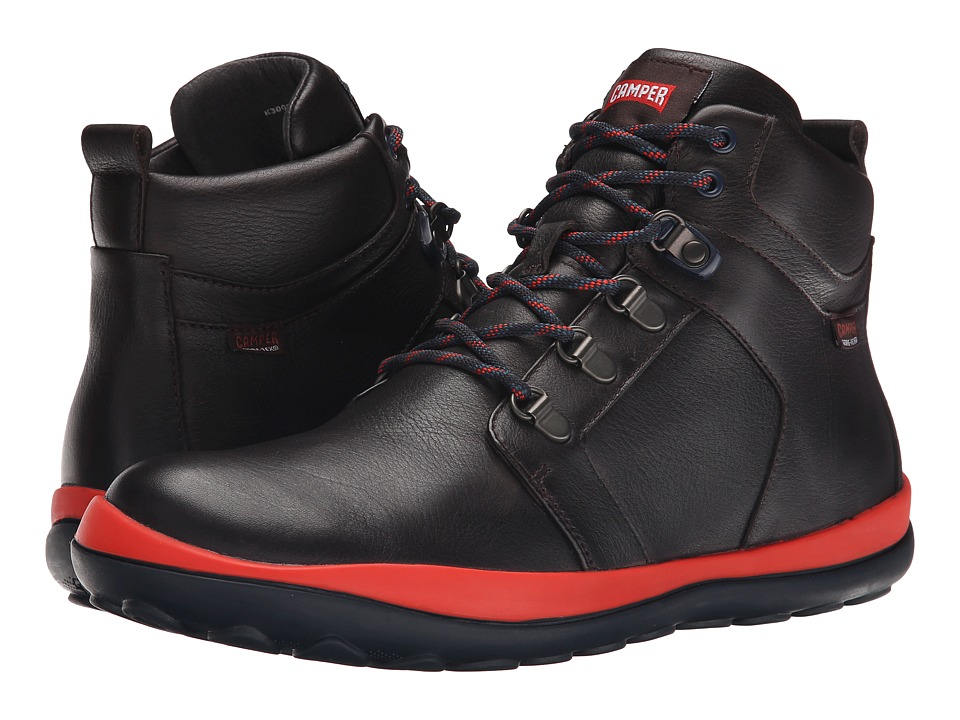 Camper - Peu Pista GORE-TEX - K300026 (Dark Brown) Men's Lace-up Boots