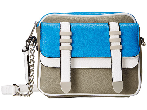 Steve Madden - Bleila (Blue/Light Grey/White) Cross Body Handbags