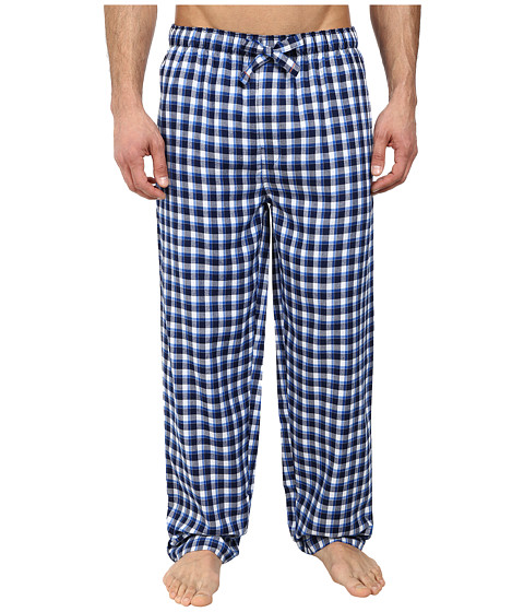 Jockey - Poly/Rayon Sleep Pants (Navy/Blue) Men