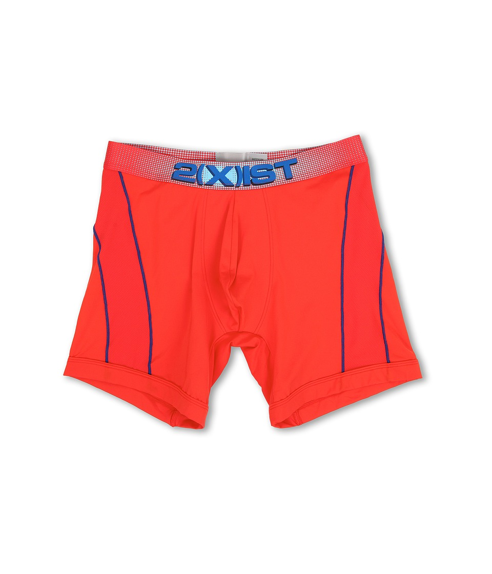 2(X)IST - Speed 2.0 Sport Boxer Brief (Poppy Red) Men's Underwear