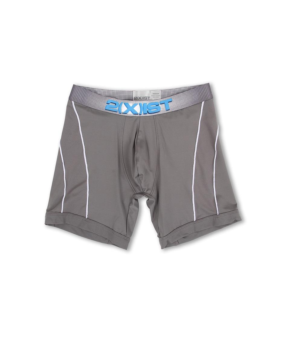 2(X)IST - Speed 2.0 Sport Boxer Brief (Lead) Men's Underwear
