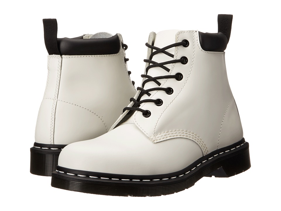 Dr. Martens - 939 (White Smooth) Boots