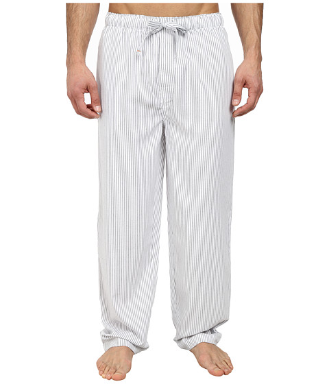 Jockey - Poly/Rayon Sleep Pants (Navy/White) Men's Pajama