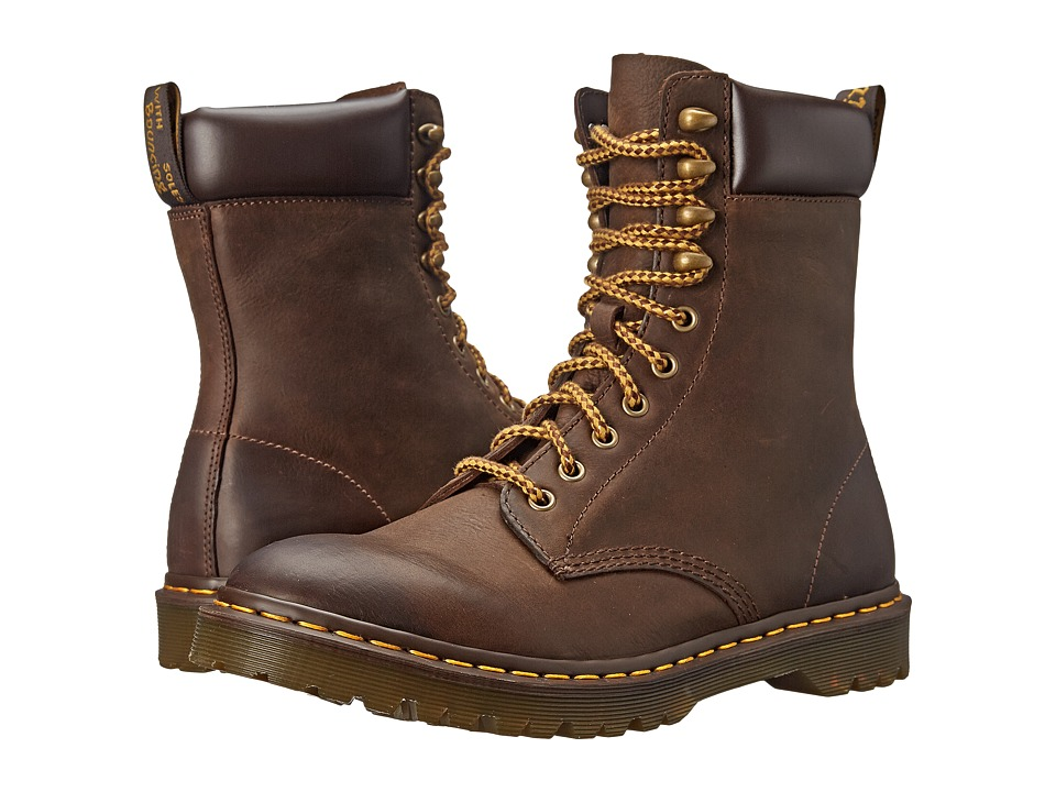 Dr. Martens - Padten (Dark Brown Wyoming) Men's Shoes