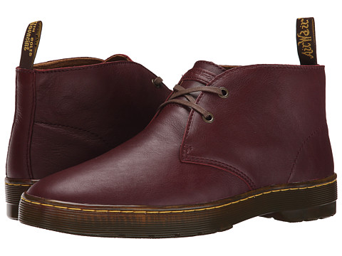 Dr. Martens - Cabrillo (Cherry Red Virginia) Men's Shoes