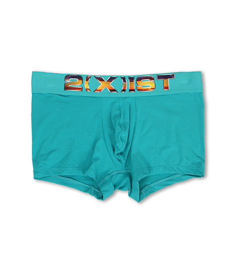 2(X)IST - Electric Limited No Show Trunk (Ceramic) Men's Underwear