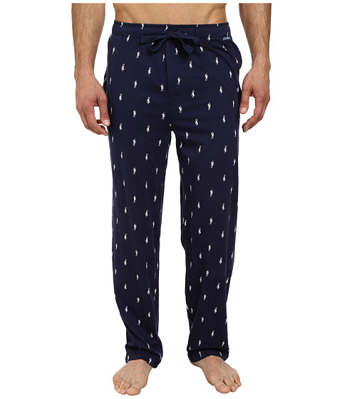 Jockey - Printed Knit Pants (Navy) Men