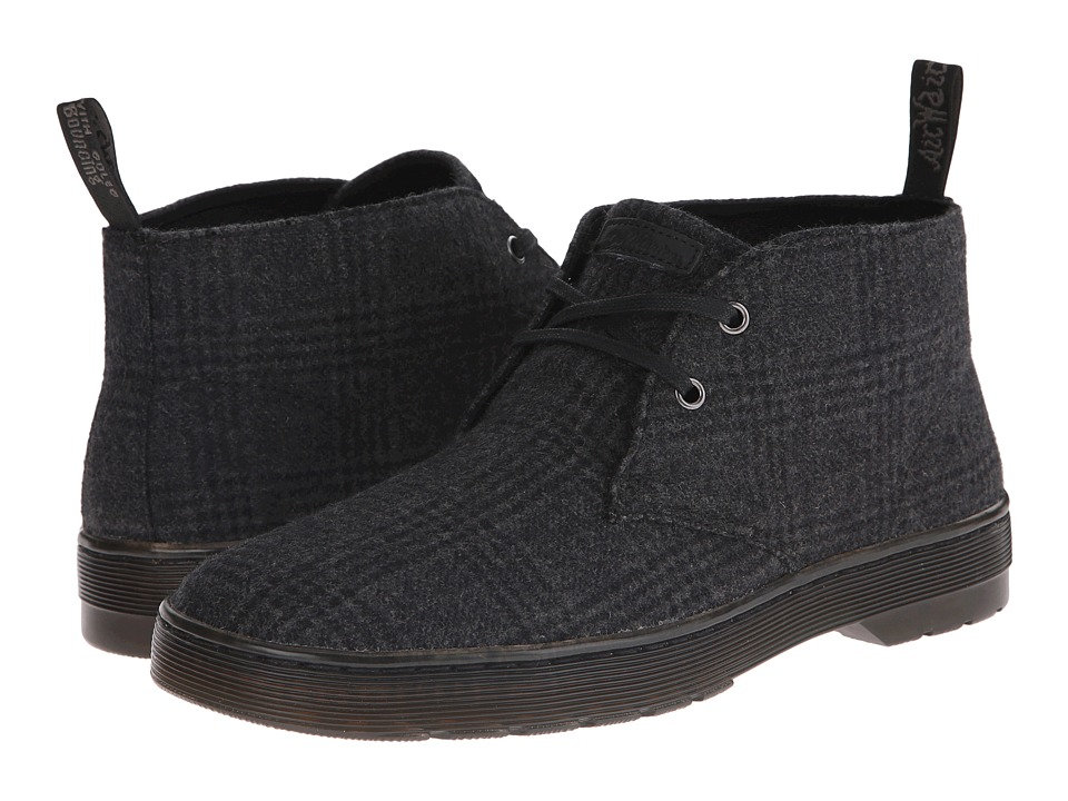 Dr. Martens - Mayport 2-Eye Desert Boot (Grey Flec Wool) Men