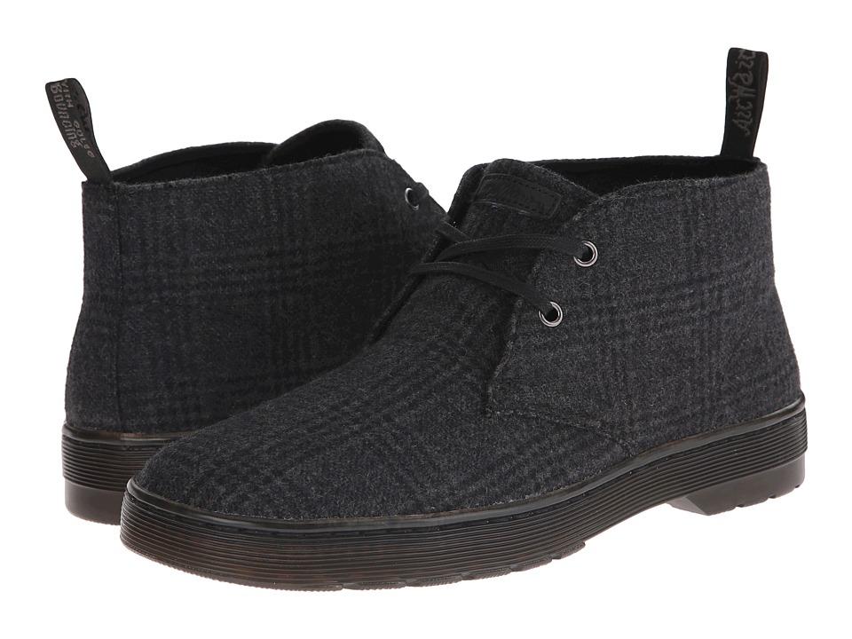 Dr. Martens - Mayport 2-Eye Desert Boot (Grey Flec Wool) Men