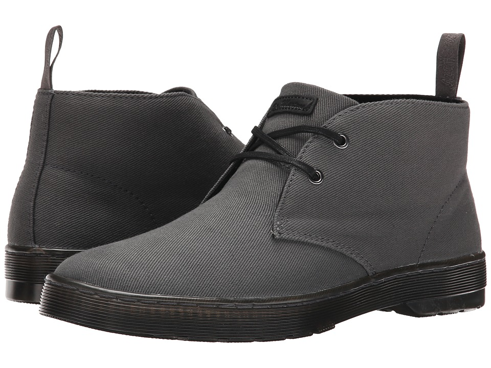 Dr. Martens - Mayport 2-Eye Desert Boot (Lead Overdyed Twill Canvas) Men