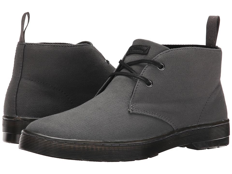 Dr. Martens - Mayport 2-Eye Desert Boot (Lead Overdyed Twill Canvas) Men