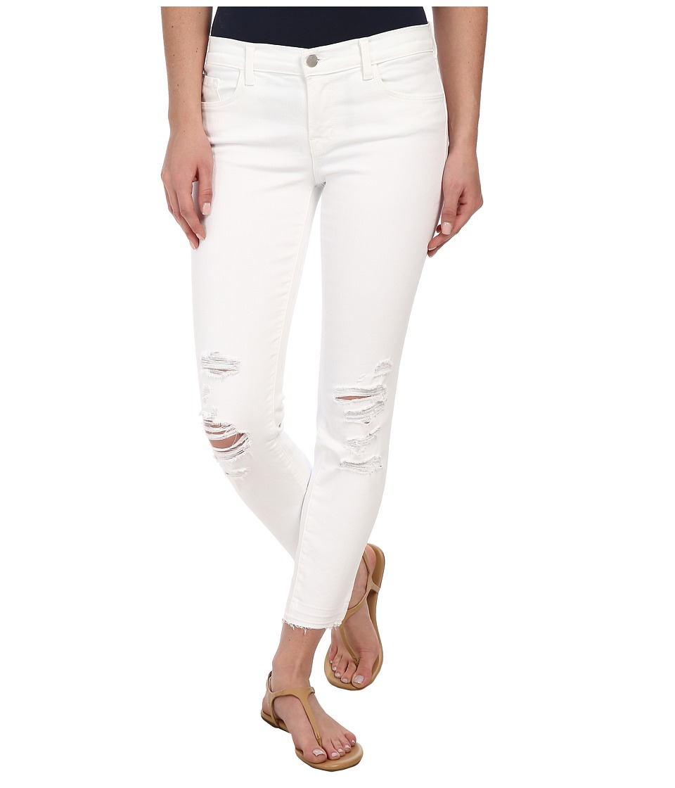 J Brand - Low Rise Destructed Crop in Demented (Demented) Women's Jeans