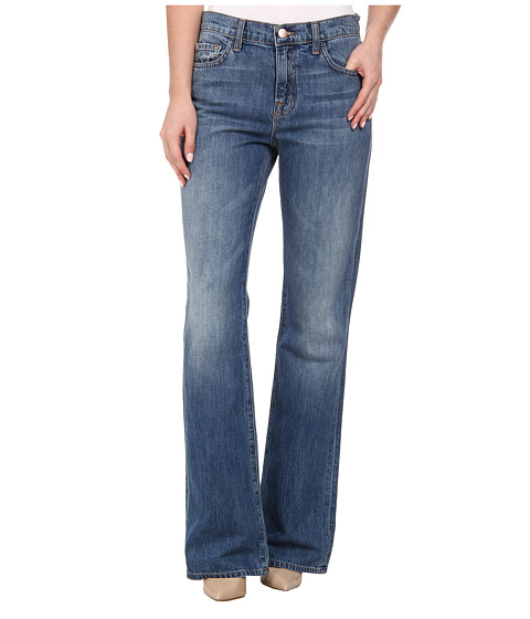 J Brand - Sabine High Rise Relaxed Flare in Swan Song (Swan Song) Women's Jeans