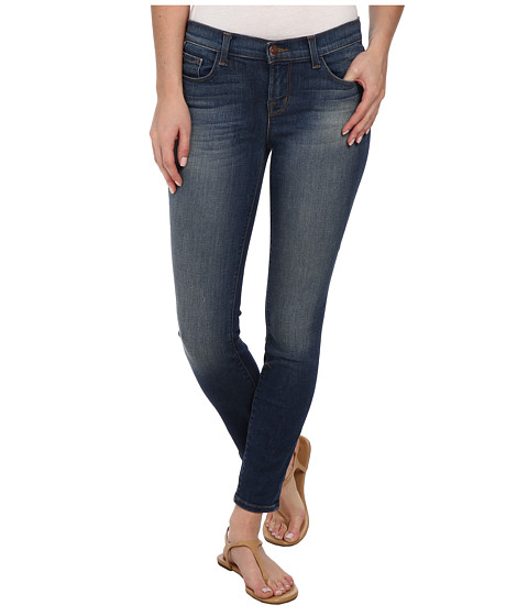 J Brand - Low Rise Crop in Affinity (Affinity) Women's Jeans