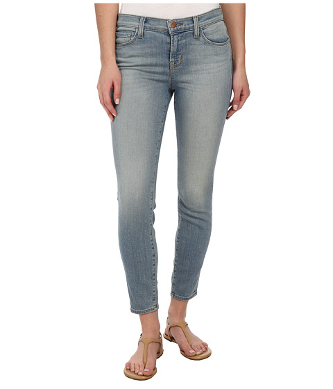 J Brand - Mid Rise Crop in Beyond (Beyond) Women